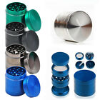 Tobacco Herb Spice Grinder 40MM 4 Part Herbal Alloy Smoke Metal Chromium Crusher