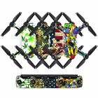 40 Styles Custom PVC Protector Wrap Sticker Kit Decal Skins For DJI Spark Drone