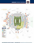 Two 2 Auburn Tigers vs Mississippi State Football Tickets Sect 39 Aisle Seats