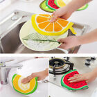 Utility Fruit Print Kitchen Hand Towel Microfiber Towels Cleaning Rag Dish CA