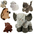 Large Heavy Ribbed Fabric Animal Door Stop Home Office Pig/ Elephant Cuddly Toy