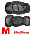 Black Motorcycle Electric Bike Net Seat Cover Breathable Protector Cushion S/M/L