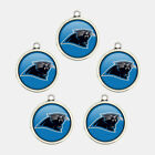 5pcs&20mm Logo Charms NFL 32 Football Teams Handcraft Jewelry Pendant Fans' Gift