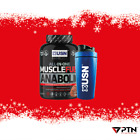 USN Muscle Fuel Anabolic 2KG All-In-One Muscle Mass Lean Muscle Builder