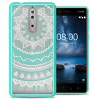 For Nokia 8 Case Hard Back Bumper Shockproof Slim Phone Cover