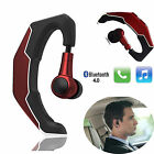 Bluetooth Headset Headphone HD Voice Earphone w/ Mic for Motorola E G2 LG Nokia