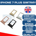 Apple iPhone 7 PLUS Sim Tray Holder Replacement Sim Slot OEM ALL COLOURS