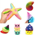 Squeeze Colorful Jumbo Stress Stretch Squishy Slow Rising Kid Toy Decor Gift