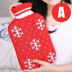 New Rubber Hot Water Bottle Bag Hand Warmers Winter Warm Home Office Therapy