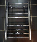 Ultra 500 x 800mm Heated Towel Rail Ladder Style Chrome Silver Finish Modern
