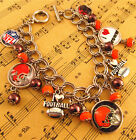 NFL Football Team Charm Bracelet Jewelry Handmade Best Fans Gift Super Bowl 2018
