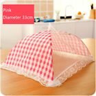 Kitchen Folded Food Cover Hygiene Grid Style Kitchen Food Dish Cover Kitchenware