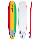 Wavestorm 8 Ft. Classic Surfboard ~ ~ SELECT Tri-Color or Pinstripe Graphic ~ ~