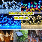 100D LED Solar Power String Fairy Light Lighting Outdoor Party Xmas Waterproof