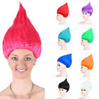 New Fashion Troll Style Festival Party Elf/Pixie Wigs Cartoon Characters Adults