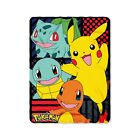 "Pokmon ""First Partners"" Fleece Throw Blanket 45 x 60-inches NO TAX"