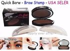 Brow Stamp - Quick Brow - Eyebrow Powder Makeup - Easy to use! Stamp and go~