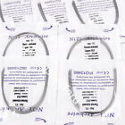 20 Packs Dental Natural/Square/Ovoid Heat Thermal Activated Niti Round Arch Wire