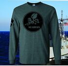 NEW USN NAVY SEABEES T-SHIRT MILITARY ARMED FORCES COMBAT WE BUILD WE FIGHT