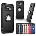 360 Ring Stand Shockproof Hard Back Case Cover For Samsung Galaxy J3 J5 J7 2016