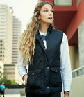 Regatta Ladies Tarah Bodywarmer Gilet Quilted Coat Fit Jacket Shaped Sleeveless