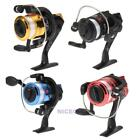5.2:1 G-Ratio Aluminum Spinning Reel High Speed Folding Arm Fishing Reels + Line