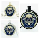 Skull, Skeleton Necklace, Great For Halloween