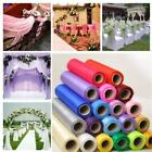 Roll Of Organza Soft Tulle Sheer Fabric Wedding Table Runner Chair Bow Decor S