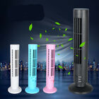 Mini Portable USB Cooling Air Conditioner Purifier Tower Bladeless Desk Fan SOL