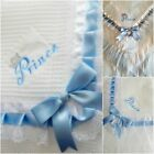 New Prince baby boy  frilled shawl  Personalized Embroidered free