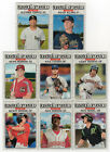 2017 TOPPS HERITAGE MINOR LEAGUE BASEBALL AMERICA  U PICK COMPLETE YOUR SET