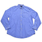 Tommy Hilfiger Mens Shirt Classic Fit Buttondown Long Sleeve Plaid Gingham New