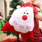 Christmas Santa Claus Large Sack Bag Candy Bags Xmas Storage Stocking Gift NEW S