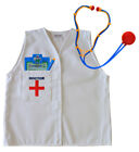 Boys Girls Medical Costume Fancy Dress Outfit Doctor Nurse Accessories Props Fun