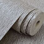 Crushed Touch Textured Modern Metallic Wallpaper Black Silver,Gery,Cream white