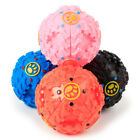 New Giggle Ball Pet Dog Cat Tough Treat Train Chew Sound Activity Toy Squeaky