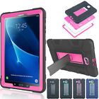For Samsung Galaxy Tab A E S2 Tablets - Rugged Case Shockproof Hybrid Cover