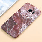 For Samsung Galaxy S7 Edge S8 Hard PC Marble Granite Texture Glossy Case Cover <br/> New For Samsung Galaxy S9/S9 Plus Note 8! Hot Selling!!