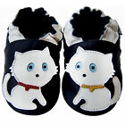 Free shipping Newborn Prewalker Soft Sole Leather Baby Shoes cats Navy 0-5 years