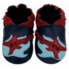 Freeshipping Newborn Prewalker Soft Sole Leather Baby Shoes Guitar Navy 0-5 yrs