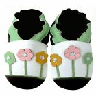 Cozy Boutique Baby Shoes Up To 5 yrs Soft Sole Leather Kids Shoes Daisy Green