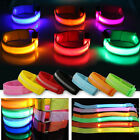 Внешний вид - Reflective LED Light Arm Armband Strap Safety Belt For Night Running Cycling