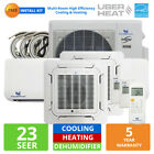 27000 - 36000 BTU Multi-Zone Mini Split Air Conditioner AC Heat Pump - 23 SEER