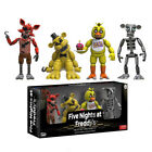 4PCS/Set Funko Five Nights at Freddy's FNAF Action Figure Kids Toy Boxed Gift UK