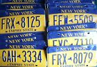NEW YORK rough condition AMERICAN LICENSE PLATE various plates to choose from #3