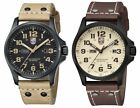 Luminox Men's Atacama Field Day-Date Black PVD Leather Watch - Choice of Color