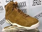 Nike Air Jordan 6 Golden Retro Harvest Wheat 384664-705 NEW 2017 8-13 SHIPS NOW