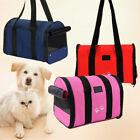 Foldable Pet Dog Nylon Handbag Carrier Travel Carry Bags For Small Animals S M~
