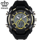 Mens Military Watches Army Analog Digital Watch Waterproof Dive Wristwatch Sport