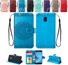 Relief Totem flower wallet Leather case for Samsung Galaxy J330 J530 J730 2017